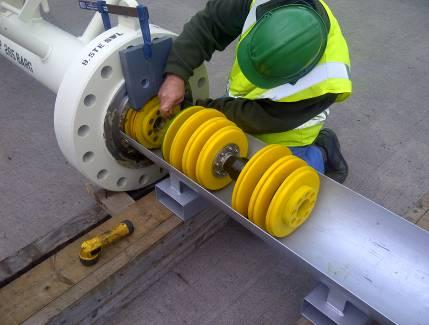 "Gauging of a Dual Diameter 10"" Pipeline"